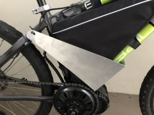 Bafang BBSHD with battery on bike