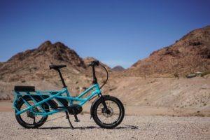 Electric bike in the desert