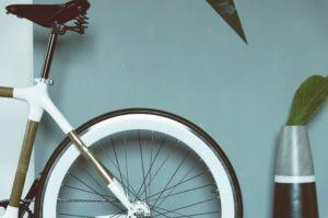 Bike fenders over rear wheel