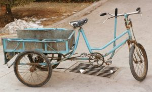 Trike With Cargo Basket