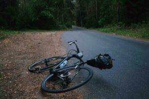 Bike Lying On The Ground