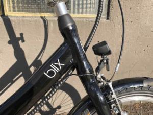 Blix Bike Logo and Headlight