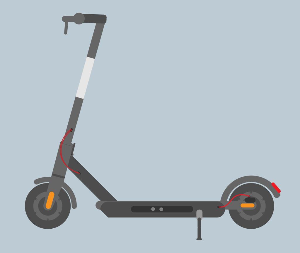 eScooter diagram